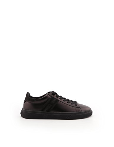 Leather Hogan Men's Black Sneakers HXM3400J300C8KB999 qtzpwP