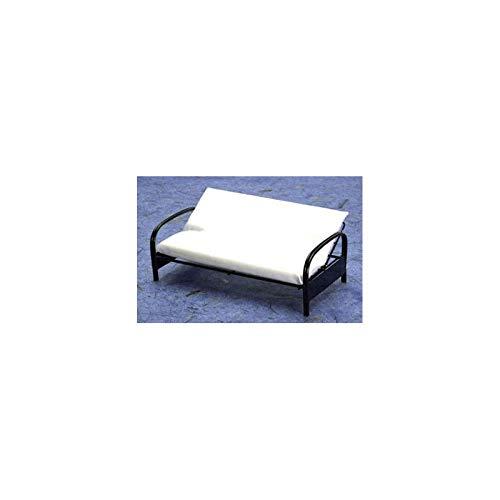 Aztec Imports, Inc. Dollhouse Miniature Metal Futon Sofa