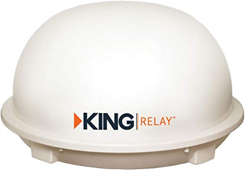 King Dome Satellite Antennas - KING KD5500 Relay Automatic HD Satellite TV Antenna (for use with DISH)