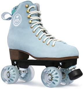 BTFL Pro Roller Skates for Women Man with Hight Adjustable stoppers – Ideal for Rink, Artistic and Rythmic Skating
