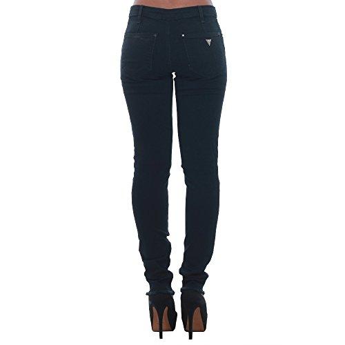 JEANS Guess Fonc Jeans GUESS Jean Marylin Zip Jeans Bleu W74a65 Skinny slim nfSqxdpqw8