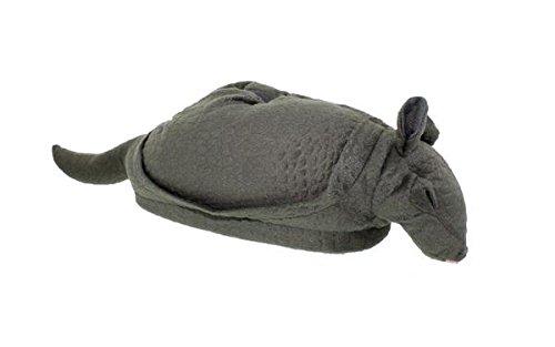 50+ Stilar - Premium Fullt Fot Happy Feet Mens Och Kvinna Djur Tofflor Bältdjur