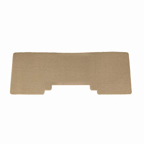 Brightt (MAT-LDB-875) 1 Pc 2nd Seat Car Floor Mat - Tan - compatible for 2003-2006 Honda Element (2003 2004 2005 2006 | 03 04 05 06)