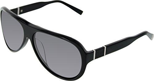 Trussardi Women's 12900-BK-61/14 Black Oval - Trussardi Sunglasses