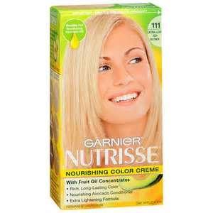 Garnier Nutrisse Niveau 3 permanent Creme cheveux, extra clair, clair Cendré 111 (chocolat blanc)