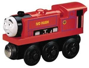 Ivo Hugh - Thomas & Friends Wooden Railway Tank Train Engine - Brand New Loose