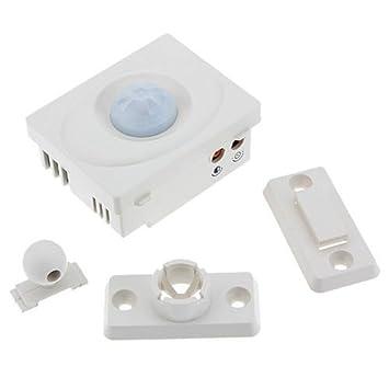 Generic 12 V Sensor de movimiento por infrarrojos automático interruptor Panel para luz LED ahorrar energía