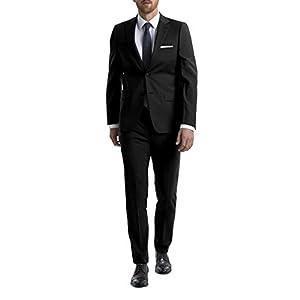 Best Epic Trends 31z5vqeK-lL._SS300_ Calvin Klein Men's Skinny Fit Stretch Suit Separates – Custom Jacket & Pant Size Selection