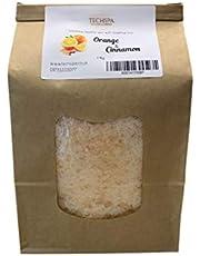 Naranja y cinammon cera de parafina (1Kilo–1000gramos) fabricado en Reino Unido