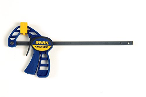 IRWIN QUICK-GRIP One-Handed Micro Bar Clamp,  4-1/4