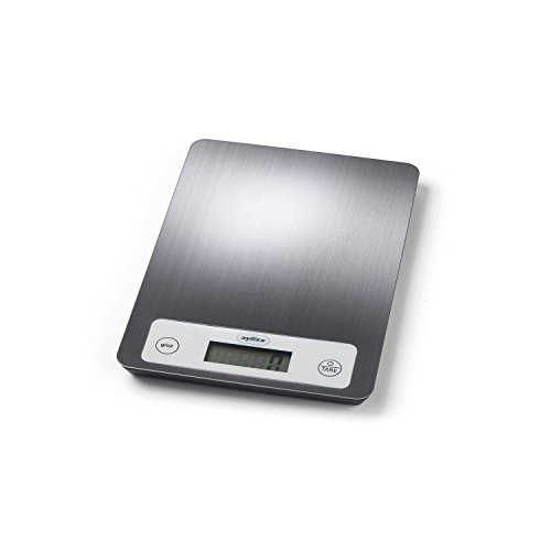 ZYLISS Digital Kitchen Food Scale - Electronic Measuring Weight 5kgs/11lbs - Stainless Steel