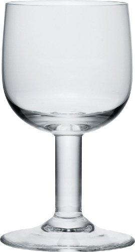 Jasper Glass (A di Alessi 5-1/4-Inch Glass Family Champagne Flute, Crystalline Glass, Set of 4)