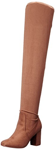 Chinese Laundry Women's Kiara Boot, Camel Suede, 6.5 M US (Suede Highland Boot)