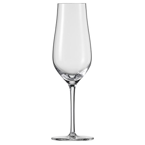 Schott Zwiesel Tritan Crystal Glass Concerto Stemware Collection, Champagne Flute with Effervescence Points Glass (Set of 6), 10.2 oz, Clear ()