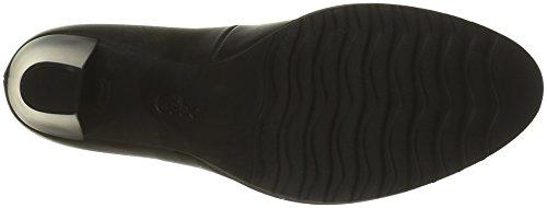 Gabor Shoes Fashion, Zapatos de Tacón para Mujer Negro (Schwarz Ra.Rot)