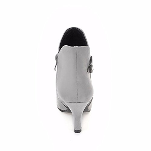 Grey fine size boots with elegant Our boots EwFxYfnqP