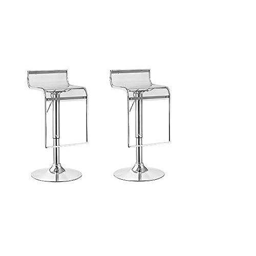 Clear Acrylic Bar Stools Amazon Com