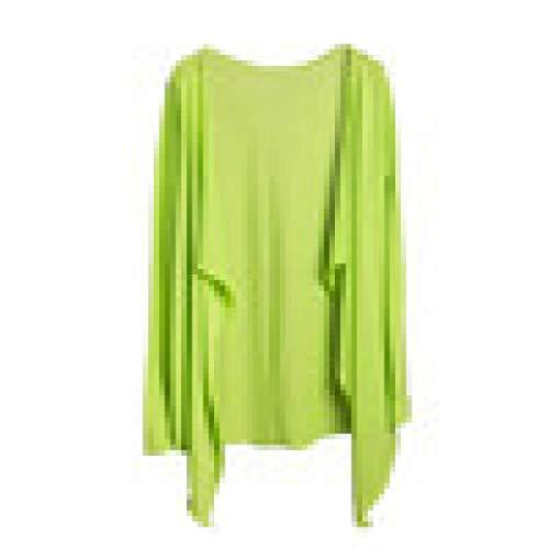 Protection Modal Clothing Tops Summer Cardigan MRULIC Transparent Women Thin Long Sun Tops Vert vq66nTwExR
