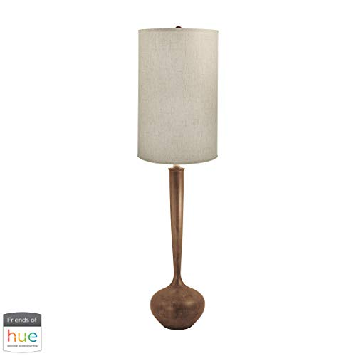 Diamond Lighting 444-HUE-B Floor lamp, Wood Tone ()