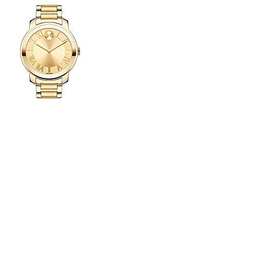Movado 'Bold' Roman Numeral Index Bracelet Watch 39mm (Large Image)