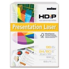 Boise HD:P Color Copy/Laser Paper, 96 Brightness, 24 lb, Letter Size (8.5 x 11), White, 500 Sheets (BPL-0111)