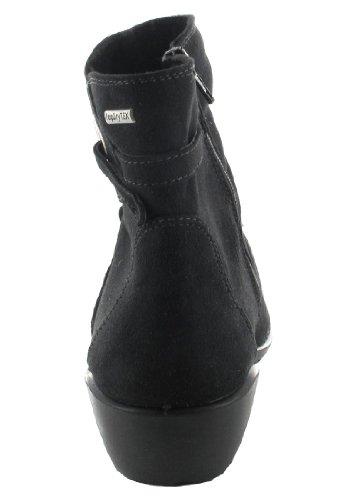 SALE - ROMIKA - Damen Stiefeletten - Schwarz Schuhe in Übergrößen