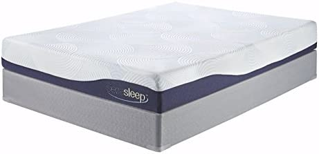 Ashley Furniture Signature Design – Sierra Sleep by Ashley – MyGel Memory Foam Mattress – Odor Eliminating – Twin – White
