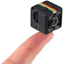 Mini Camera Espiã Visão Noturna Sq11 Sensor De Movimento Segurança