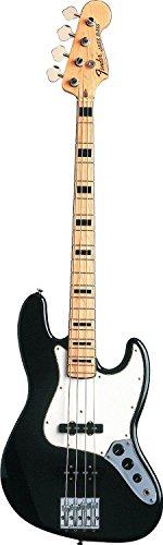 Fender Geddy Lee Jazz Bass, Black, Maple Fretboard
