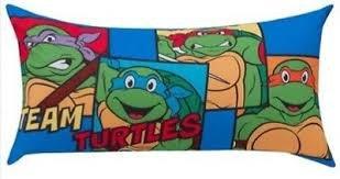 Teenage Mutant Ninja Turtles Body Pillow 18 x 36 Inches