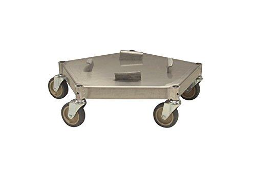 Prairie View Industries Aluminum UFO Dolly, 19.5'' x 6.5''
