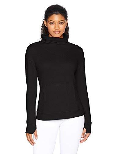Skechers Active Women's Comfy Pullover Sweatshirt, Black, L