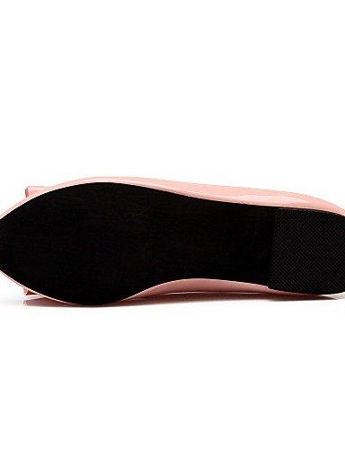 Bout Appartements Plat us5 robe Rond beige Talon vert Cuir Femme Noir Black rose chaussures 5 Cn35 Eu36 Uk3 Verni décontracté 5 Extérieur Pdx xwYfq8Af