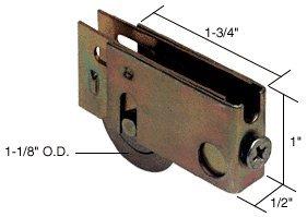 CRL Sliding Glass Door Roller With 1 1/8u0026quot; Steel Wheel 1/