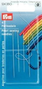 PRYM 124350 Perlnadeln sortiert 49- und 55mm, 4 Stück
