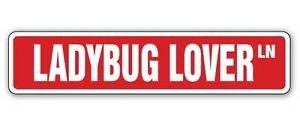 LADYBUG LOVER Street Sticker ladybugs collectible gift lady bug bugs insects