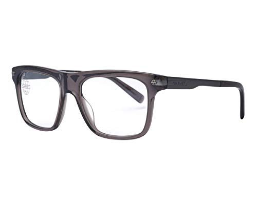 Vuarnet VL140400041121 Clip-On Sunglasses Transparent Gray Frame PX3000 Pure Gray Glass ()