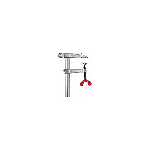 Bessey LP-1F Earth Ground Clamp Lp 5.9In/60mm, SILVER/BLACK