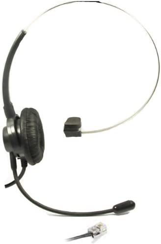 Black T400 Headset For Polycom SoundPoint IP Phone Series 430 450 550 670