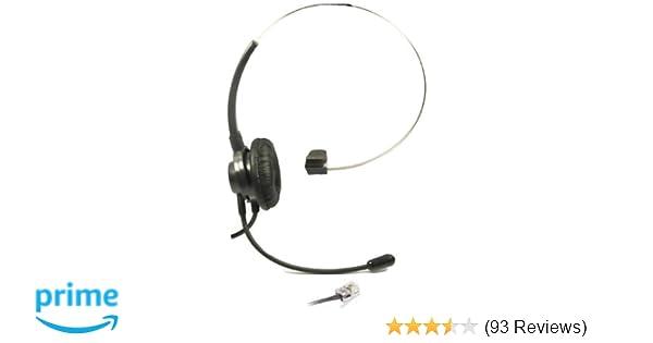 Pack//Lot of 100 Black 12 Ft Handset Phone Cord Nortel Norstar i2004 T7316e 1120e