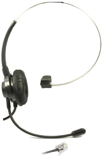 - Call Center Headset Headphones Ear Phone + Adjustable Volume + Mute Control for Polycom SoundPoint IP Phone Series, Models 300 301 430 500 501 550 600 601 650 Ip Telephone