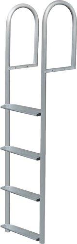 3 Step Stationary Ladder, Aluminum - Jif - Dock Ladder
