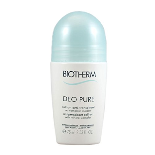 Deo Lotion (Deo Pure Antiperspirant Roll-On by Biotherm, 2.53 Ounce)