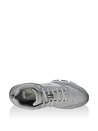 Lotto Grande II CVS AMF Sports Shoes Man Leather Fabric Blue S1805 Grey quality original nbyjNKGp