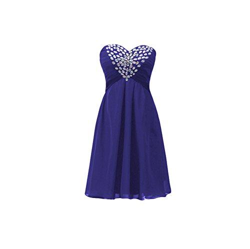 Women's Prom Rhinestone Sweetheart Blue Dobelove Navy Dress Beading 4TxdI4Cwq