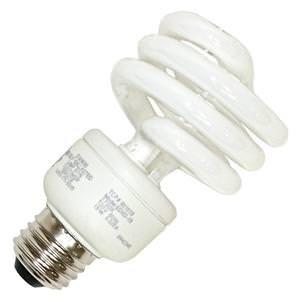 Cfl 19w Spiral (TCP 19W Warm White Spiral CFL Bulb, E26 Base)