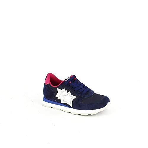Sneaker Suede E In Tessuto Blu Tecnico qvEqxw5r