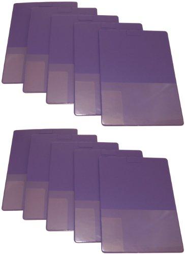 Lapboard Pocket Board Document Holder - Package of 10 (Purple)