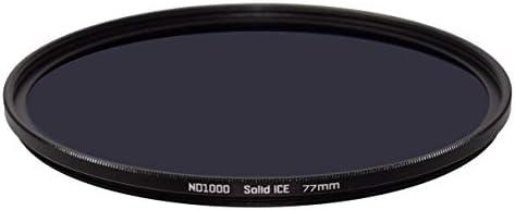 Solid ICE 耐衝撃 77mm ND1000 フィルター ニュートラルデンシティー ND 10 ストップ強化光学ガラス