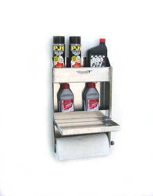 Pit Posse Work Station Trailer Accessory (Silver)